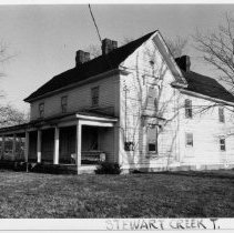 Image of Allred House - Hiram Allred farmhouse, probably built during the 1880s and remodeled in the 20th century.  A note in simple treasures says it may originally have been the residence of Matthew Davis.  It is located on Hwy 89 in the Toast vicinity.  State Record 449.