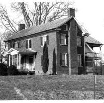 "Image of Butner House - Frank A. Butner House, located in the Shoals Township.  A note on the back of the picture reads, ""Gen. Butler Birthplace.""  State Record 100."