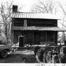 Image of Coe House - Joseph Coe House, located in the Stony Knoll vicinity of Rockford Township.  According to SIMPLE TREASURES, it may have been built during the third quarter of the 19th century.  State Record 234.