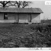 Image of Reeves Office Building - Reeves office building, also known as the Reeves Kitchen/Dining Room, located on SR 2081 in the Siloam community, State Record 195.  For more information, refer to SIMPLE TREASURES page 245.