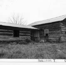 Image of Tate House - Tate House, a vernacular log structure located on SR 1003 in the Siloam community, State Record 181.  For more information, refer to SIMPLE TREASURES page 241.