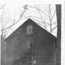 """Image of Joe Lane Mill or Kapp's Mill - Joe Lane Mill or Kapps' Mill, according to penciled notation on the back of the picture.  There is also a notation, """"Not Correct"""""""