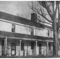 Image of Grant-Burrus Hotel - Grant-Burrus Hotel in Rockford.  According to information on the back of the photo, the hotel burned in 1776.  However, information in SIMPLE TREASURES states the structure burned in 1974, and the ruins were demolished in the early 1980s.