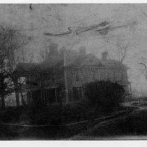 Image of Judge Jesse F. Graves' House - Judge Jesse F. Graves' House. Before Rockford Street was changed. Mount Airy.