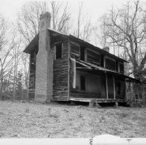 Image of Cockerham Family House - Cockerham Family House, SR 1330, Bryan Township.  For more information, see SIMPLE TREASURES, page 63.  State Record 520.