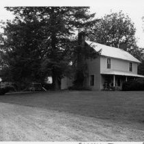 Image of Wiley Gentry House - Wiley Gentry House, SR 1157, North Elkin vicinity.   For more information, see SIMPLE TREASURES page 89.  State Record 564.