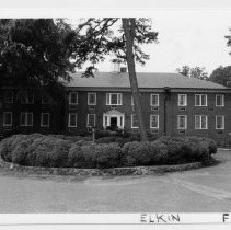 Image of Old Hugh Chatham Hospital - Old Hugh Chatham Hospital, Elkin, now used as senior apartments.