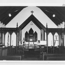 Image of Galloway Memorial Episcopal Church - Galloway Memorial Episcopal Church interior/Elkin, North Carolina