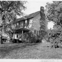 Image of Tom Jones House - Tom Jones House, SR 2035, Eldora Township.  The house began as a log structure, has since been enlarged and remodeled.  For more information, see SIMPLE TREASURES page 81 and State Record 159.