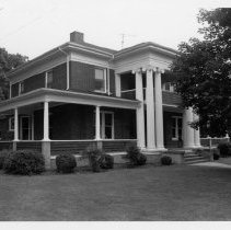 Image of Harry H. Barker House - Harry H. Barker House, 418 West Main Street, Elkin.  For more information, see SIMPLE TREASURES page 99 and state record 604.