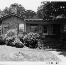Image of George Chatham, Sr., House - George Chatham, Sr., House, 520 West Main Street, Elkin, built ca. 1925, bungalow house type.  For more information see SIMPLE TREASURES page 100 and state record 610.