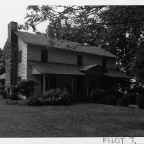 Image of Nathaniel J. Fulk House - Nathaniel J. Fulk House, NC 268, Pilot Mountain vicinity.  For more information see SIMPLE TREASURES page 190 and state record 51.