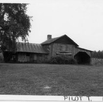 Image of John W. Hill House - John W. Hill House, SR 1815, Pilot Mountain vicinity, built in the 1870s.  For more information see SIMPLE TREASURES page 191 and state record 78.
