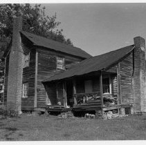Image of Charles Wesley Ray House - Charles Wesley Ray House, SR 1001, Poplar Springs, built ca. 1893.  For more information see SIMPLE TREASURES page 88 and state record 538.