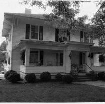 Image of W. R. Badgett House - W. R. Badgett House, 409 West Main Street, Pilot Mountain, built ca. 1924.  For more information see SIMPLE TREASURES page 202 and state record 621.