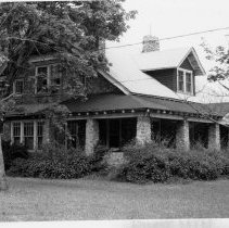 Image of Dr. R. A. Frye House - Dr. R. A. Frye House, West Main and Marion Streets, Pilot Mountain, built around 1917.  For more information see SIMPLE TREASURES page 201 and state record 627.
