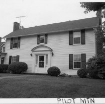 Image of John Francis Stephens House - John Francis Stephens House, 304 West Main Street, Pilot Mountain, built around the turn of the century.  For more information see SIMPLE TREASURES page 200 and state record 629.