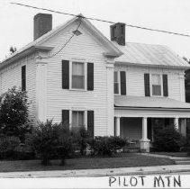 Image of Jim Smith House -  Dr. Jim Smith House, E. Main Street Pilot Mountain.  See state record (SR650).  For more information  see Simple Treasures page 198.