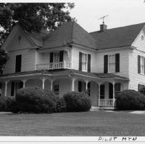 Image of Flippin House - Dr.R.E.L. Flippin  House, 203 W. Main Street,Pilot Mountain. A general practitioner, Dr. Flippin also ran a hospital in  the second story of the Bank of Pilot Mountain building . He also served as a mayor once.