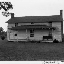 Image of Flinchum House - Robert Flinchum House in Pilot Mountain vicinity, Longhill Township.  For more information see SIMPLE TREASURES, page114.