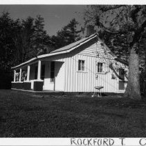 Image of Old Negro School - Old Negro School, Rockford vicinity, Surry County, North Carolina, which operated from at least 1917 to 1921.