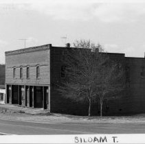 """Image of Marion Brothers Store - Marion Brothers Store.  Around 1905 Newton Coke """"Bud"""" Marion and Jeremiah Richard """"Babe"""" Marion built this two story brick store in Siloam.  See SIMPLE TREASURES, page 240 for more information."""