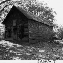 Image of B. A. Key Store - B. A. Key Store, SR 2038, Pine Hill vicinity, Siloam Township, early 20th century, now abandoned and badly deteriorated.  For more information see SIMPLE TREASURES page 242 and state record 185.