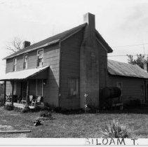 Image of Gentry House - Gentry House, SR 2080, Siloam Township, probably built late 19th century.  For more information, refer to SIMPLE TREASURES page 244 and State Record 177.