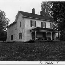 Image of Samuel Josiah Atkinson House - Samuel Josiah Atkinson House, SR 2082, Siloam.  For more information, see SIMPLE TREASURES page 247 and State Record 183.