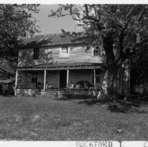 Image of Samuel Martin Patterson House - Samuel Martin Patterson House, NC 268, Pine Hill vicinity, Rockford Township, built late 19th, early 20th century.  For more information, see SIMPLE TREASURES page 208 and State Record 162.