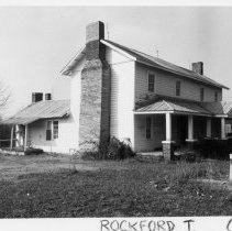 Image of Terrell Snow House - Terrell Snow House, SR 2209, Copeland vicinity, Rockford Township.  For more information see SIMPLE TREASURES page 209 and State Record 212.