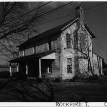 Image of Woltz-Simpson House - Woltz-Simpson House, SR 2009, Copeland, Rockford Township.  Demolished in 1983.  For more information see SIMPLE TREASURES page 210 and State Record 241.
