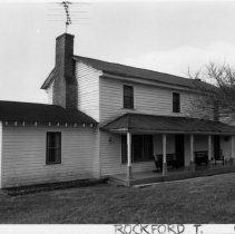 Image of Turner Pilson House - Turner Pilson House, SR 2260, Copeland vicinity, Rockford Township, original section built in 1862.  For more information see SIMPLE TREASURES page 219 and State Record 238.
