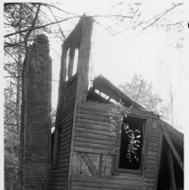Image of John Jervis House - John Jarvis House, SR 2233, Rockford vicinity.  Only ruin of the house remains. For more information see SIMPLE TREASURES page 218, and State Record 226.