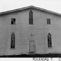 Image of Masonic Lodge/Copeland Baptist Church - (Former) Masonic Lodge/Copeland Baptist Church, SR 2209, Copeland, Rockford Township.  For more information see SIMPLE TREASURES page 210 and State Record 236.