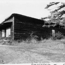 Image of Harbour Store - Harbour Store, SR 1003, Rockford Township, built 1917 by James William Harbour.  For more information, see SIMPLE TREASURES page 208 and State Record 189.