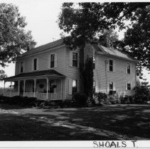 Image of Egbert Samuel Culler House - Egbert Samuel Culler House, Shoals Township, Surry County, North Carolina built ca. 1905. See SIMPLE TREASURES, page 225.