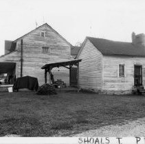 Image of Bowen House - Bowen House, SR 2069, Shoals vicinity, remodeled log house originally built mid 19th century.  For more information see SIMPLE TREASURES page 228 and State Record 117.