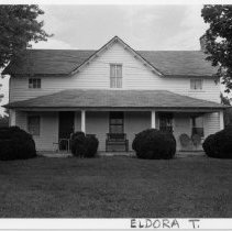 Image of J. M. Jones House - J. M. Jones House, SR 2035, Eldora Township, built late 19th century.  For more information see SIMPLE TREASURES page 81 and State Record 158.