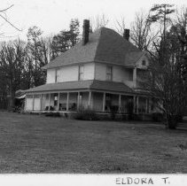 Image of Henry Thomas Moore House - Henry Thomas Moore House, SR 1003, Eldora Township, built 1916.  For more information see SIMPLE TREASURES page 80 and State Record 482.