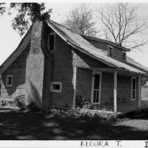 Image of Elder Johnny Jones House - Elder Johnny Jones House, SR 2093, Eldora Township, built ca. 1830.  For more information see SIMPLE TREASURES page 84 and State Record 157.