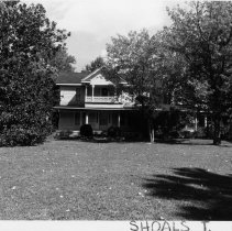 Image of Trulove House - Josephine Truelove House, SR 2069, Shoals vicinity, turn-of-century Colonial Revival house.  For more information see SIMPLE TREASURES page 230 and State Record 123.