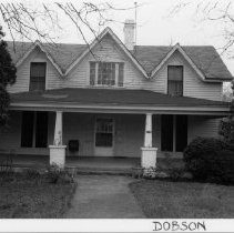 Image of Dr. Walter C. Folger House - Dr. Walter C. Folger House, 112 North Main Street, Dobson, built late 19th century, remodeled on several occasions.  For more information, see SIMPLE TREASURES page 77 and State Record 490.