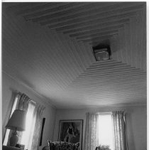Image of Waugh-Bodenheimer House - Parlor ceiling, Waugh-Bodenheimer House, 211 West Atkins Street, Dobson.  For more information see SIMPLE TREASURES pages 31 and 75, and State Record 489.