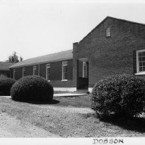 Image of Dobson School - Dobson School, Atkins Street, Dobson.  For more information see SIMPLE TREASURES page 76 and State Record 497.