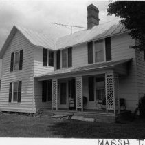 """Image of """"Gee"""" Wallace House - """"Gee"""" Wallace House. Also known as Jonathan Jehue 'Gee"""" Wallace House.  Little Richmond Community. See also SIMPLE TREASURES page 119 and State Record 554."""