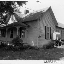 Image of Carl Wallace House - Carl Wallace House.  Little Richmond Vicinity. Marsh Township. See also SIMPLE TRESASURES page 119 and State Record 552