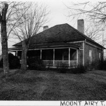 Image of Winston McKinney House - Winston McKinney House, SR 1350, Toast vicinity, Mount Airy Township, built 1901-1902.  For more information see SIMPLE TREASURES page 134 and State Record 455.