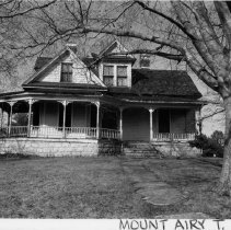 Image of Robert Gwyn House - Robert Gwyn House, E. Pine Street, Mount Airy Township, Flat Rock vicinity.  For more information see SIMPLE TREASURES page 127 and State Record 428.