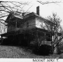 Image of Thompson Boarding House - Thompson Boarding House, 804 E. Pine Street, Mount Airy, Flat Rock vicinity, Mount Airy Township.  This two-story frame late Victorian house is one of the most impressive in the Flat Rock vicinity.  See SIMPLE TREASURES, page 128.
